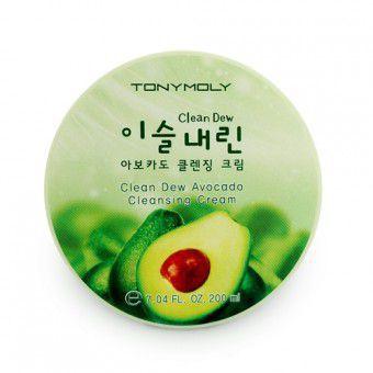 TonyMoly Clean Dew Avocado Cleansing Cream - Крем для умывания с экстрактом авокадо