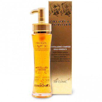 3W Clinic Collagen & Luxury Gold Revitalizing Essence - Эссенция для лица Жидкий Коллаген с Золотом