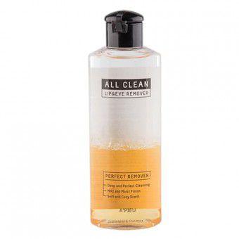 A'pieu All Clean Lip&Eye Remover (Calendula) - Двухфазное средство для снятия макияжа (Календула)