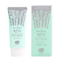 Organic Flowers Sun Cream - SPF 14 / PA++ (Natural Fermentation) - Солнцезащитный крем на основе цветочных ферментов SPF 14 / PA++