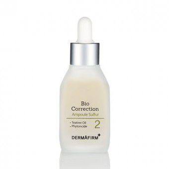 Dermafirm Bio Correction Ampoule-Sulfur - Сыворотка антибактериальная