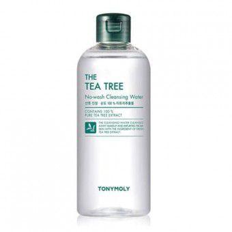 TonyMoly The Tea Tree No-Wash Cleansing Water - Очищающая вода с экстрактом чайного дерева