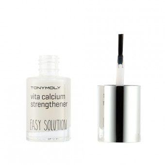 TonyMoly Easy solution vita calcium strengthener - Средство для укрепления ногтей