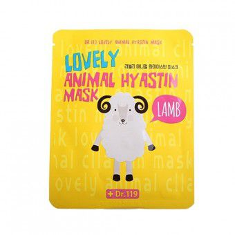 Baviphat Dr.119 Lovely Anymal Hyastin Mask - Маска увлажняющая