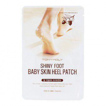 TonyMoly Shiny Foot Baby Skin Heel Patch - Пластырь для размягчения кожи пяток