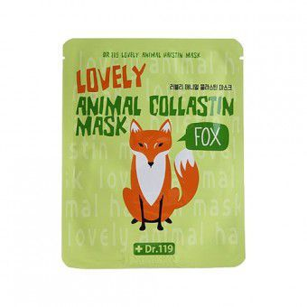 Baviphat Dr.119 Lovely Anymal Collastin Mask - Маска омолаживающая