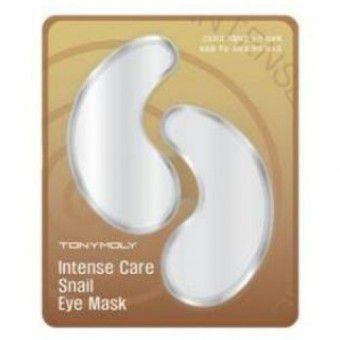 TonyMoly Intense Care Snail Eye Mask - Патчи для век с улиточным экстрактом