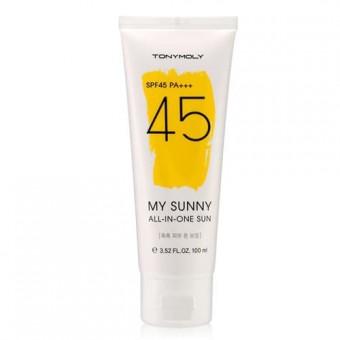 TonyMoly My Sunny All-in-one Sun SPF45 PA+++ - Cолнцезащитный крем