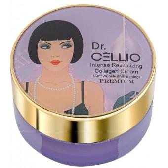 Dr.Cellio Intense Revitalizing Collagen Cream - Интенсивный восстанавливающий крем для лица и шеи