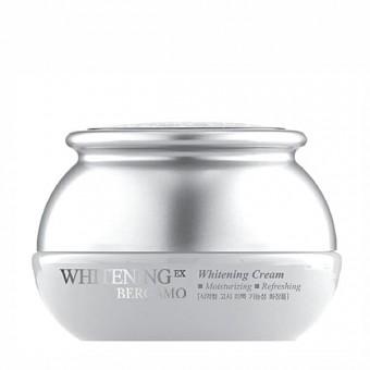 Bergamo Whitening EX Whitening Cream -  Антивозрастной отбеливающий крем