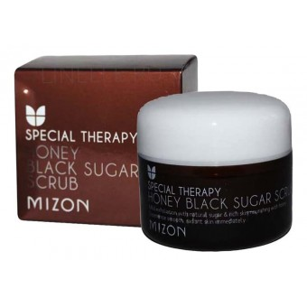 Mizon Honey Black Sugar Scrub - Скраб с черным сахаром