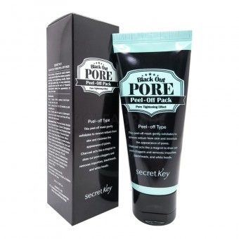 Secret Key Black Out Pore Peel-Off Pack - Маска-пленка для лица