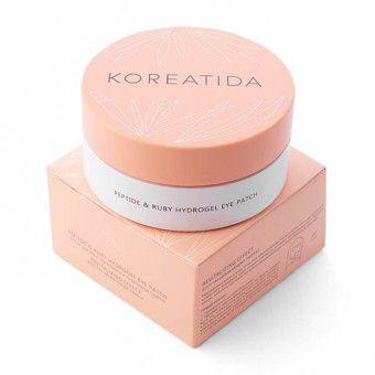 Koreatida Peptide & Ruby Hydrogel Eye Patch - Гидрогелевые патчи для глаз с пептидами и рубиновой пудрой
