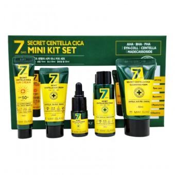 May Island Secret Centella Mini Kit Set - Набор для ухода за проблемной кожей