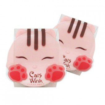 TonyMoly Cats Wink Clear Pact 02 - Пудра