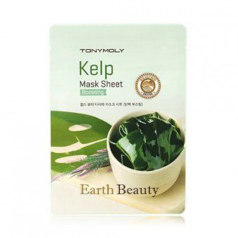 TonyMoly Earth Beauty Kelp Mask Sheet - Маска для лица с морскими водорослями