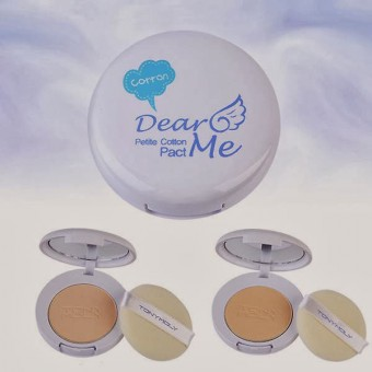 TonyMoly Dear Me Petit Cotton Pact 02 - Пудра с экстрактом хлопка
