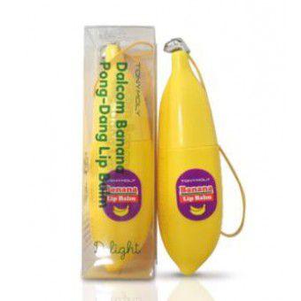 TonyMoly Delight Dalcom Banana Pongdang Lip Balm 01 - Бальзам для губ банановый