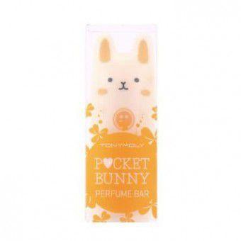 TonyMoly Hello Bunny Perfume Bar-01 Bebe - Твердые духи