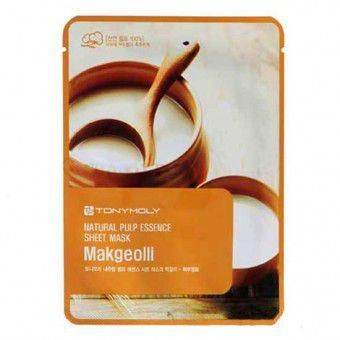 TonyMoly Natural Pulp Essence Sheet Mask Makgeolli - Тканевая маска с маточным молочком