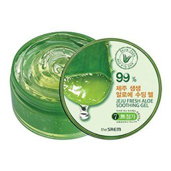 The Saem Jeju Fresh Aloe Soothing Gel 99% - Гель с алое