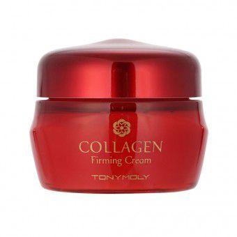 TonyMoly Collagen Firming Cream - Увлажняющий и питательный крем для ухода за кожей с коллагеном