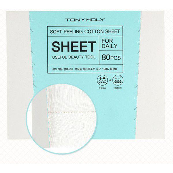 Soft Cotton Peeling Sheet - Хлопковые диски