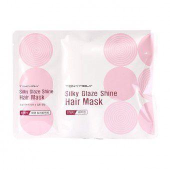TonyMoly Silky Glaze Shine Hair Mask - Маска для блеска волос