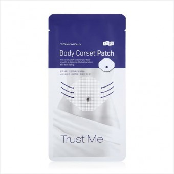 TonyMoly Trust Me Body Corset Patch - Патч для тела Корсет