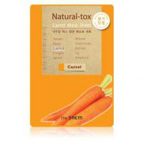Natural – tox Carrot Mask Sheet - Маска - детокс