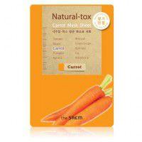Natural – tox Carrot Mask Sheet - Маска - детокс