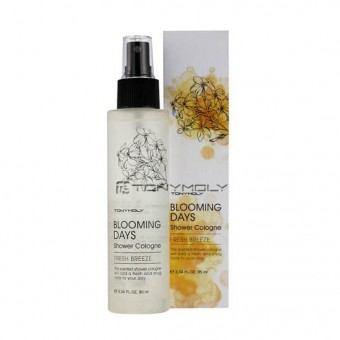 TonyMoly Blooming days Shower Cologne - Fresh Breeze - Мист-спрей для тела