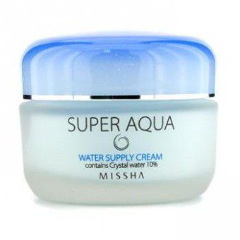 Missha Super Aqua Water Supply Cream - Увлажняющий крем для лица