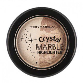 TonyMoly Crystal Marble Highlighter 02 Glow Gold - Хайлайтер