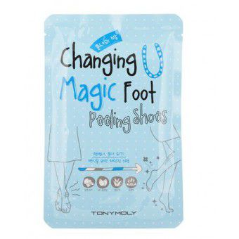 TonyMoly Changing U Magic Foot Peeling Shoes - Средство для пилинга ног