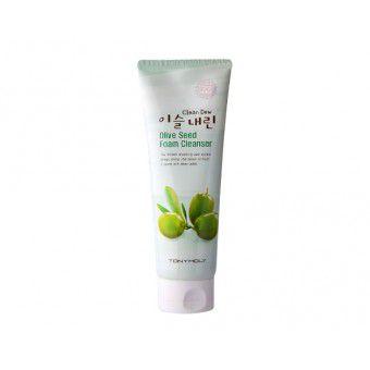 TonyMoly Clean Dew Olive Seed Foam Cleanser - Очищающая пенка с экстрактом оливы