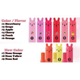 TonyMoly Petit Bunny Gloss Bar 09 - Увлажняющая помада-бальзам для губ