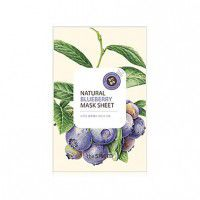 Natural Blueberry Mask Sheet - Маска от усталости