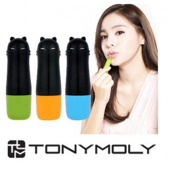 TonyMoly Cat Chu Wink Crazy Tint Stick 02 Crazy Yellow - Тинт для губ
