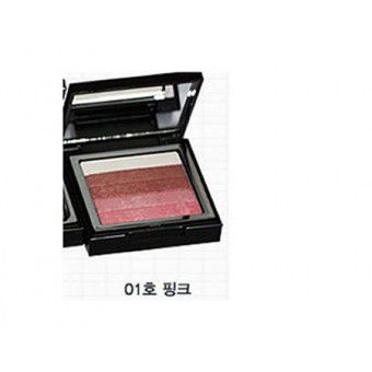TonyMoly Shimmer Lover Cube 01 Pink - Румяна-тени-шиммер