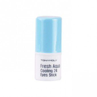 TonyMoly Fresh Aqua Cooling 24 Eye Stick - Освежающий крем для глаз с охлаждающим эффектом