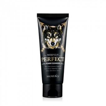 Secret Key Wolf Guy Perfect Foam Cleanser - Пенка для умывания