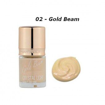 TonyMoly Crystal Light 02 Gold Beam - Хайлайтер для лица жидкий золотой