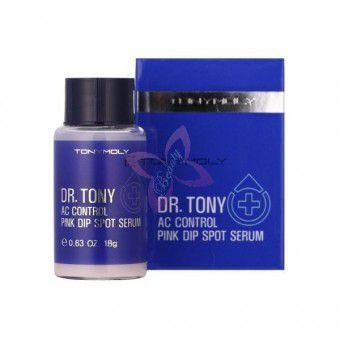 TonyMoly Ac Control Pink Dip Spot Serum - Двухфазное средство от прыщей