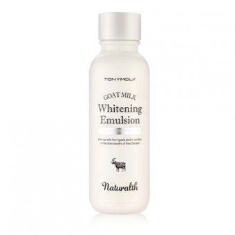 TonyMoly Naturalth Goat Milk Whitening Emulsion - Эмульсия на основе козьего молока
