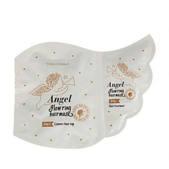 TonyMoly Angel Glowring Hair Mask - Маска для волос с маслом Арганы и маточным молочком