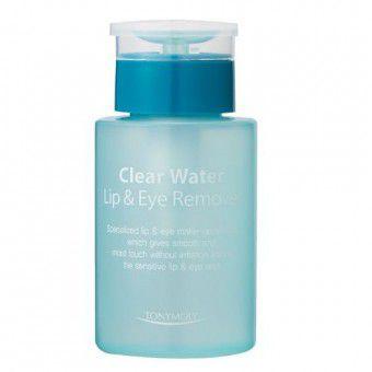 TonyMoly Clear Water Lip & Eye Remover - Средство для снятия макияжа с глаз и губ на водной основе