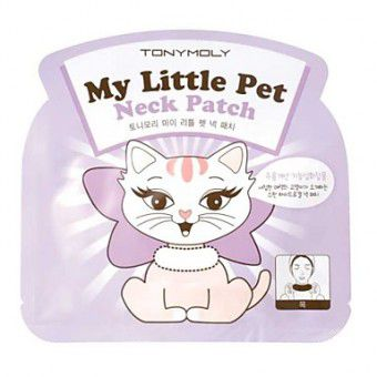 TonyMoly My Little Pet Neck Patch -  Гидрогелевая маска для шеи