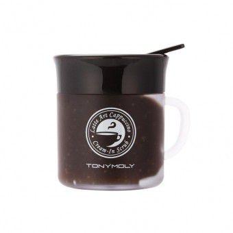 TonyMoly Latte Art Scrub - Кофейный скраб