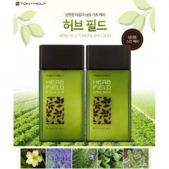 TonyMoly Herb Field Emulsion - Эмульсия успокаивающая на экстрактах трав